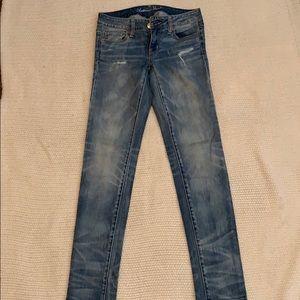 American Eagle, skinny, stretch jeans